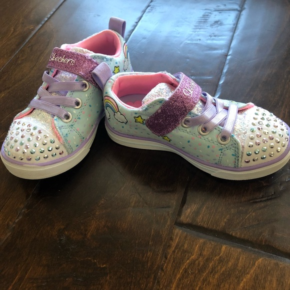 Skechers Twinkle Toes Unicorn size 8 toddler